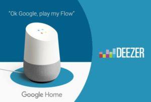 Deezer Flow su Google Home