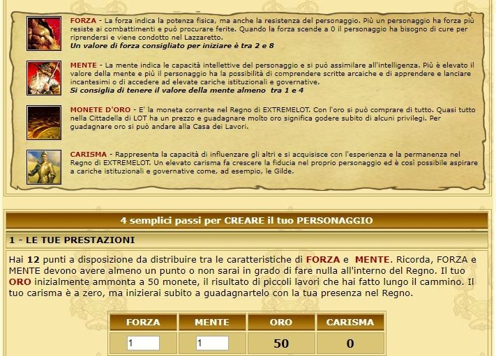 Play by chat, giochi di ruolo on line