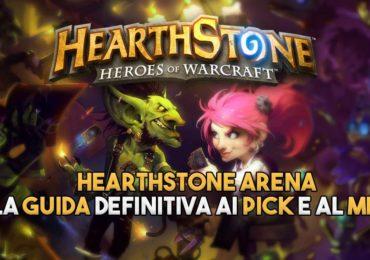 HEARTHSTONE guida arena pick meta meta pick arena