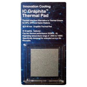 IC Graphite Thermal Pad, Innovation Cooling Graphite Thermal Pad, dissipatore Innovation Cooling Graphite Thermal Pad, tampone Innovation Cooling Graphite Thermal Pad
