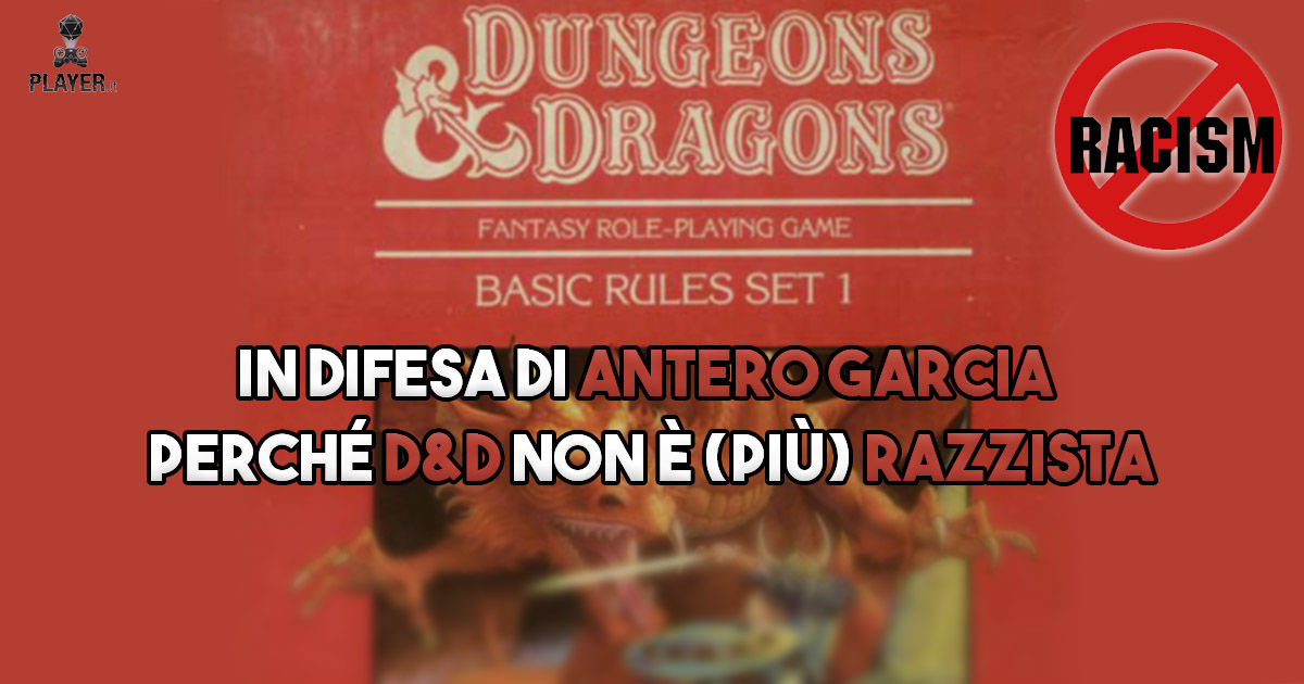 Dungeons and dragons razzista