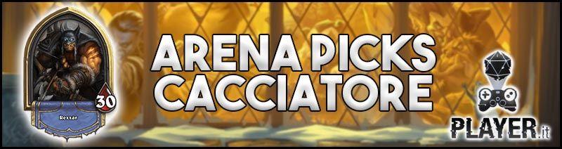 arena pick cacciatore - hearthstone arena hunter