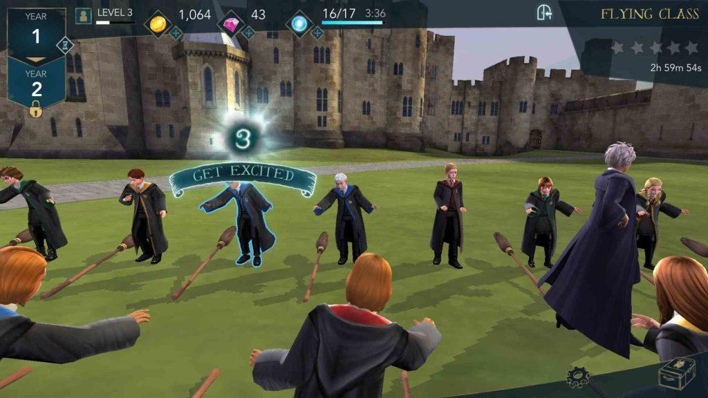 harry potter hogwarts mystery lezioni di volo