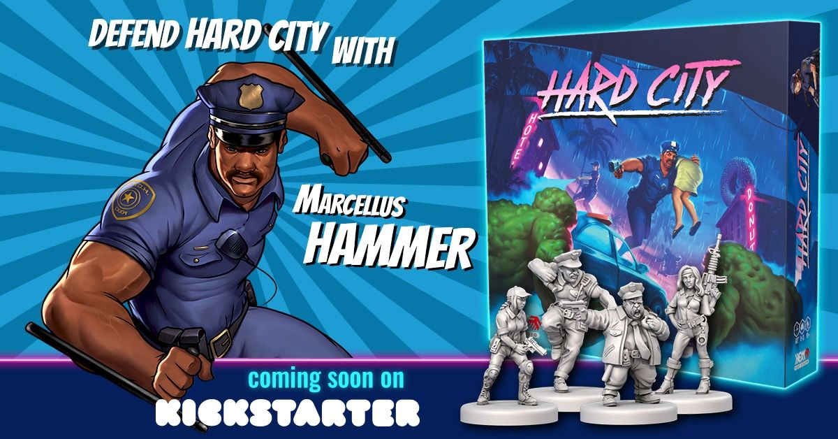 hard city kickstarter