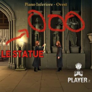harry potter Hogwarts Mystery energia piano inferiore ovest