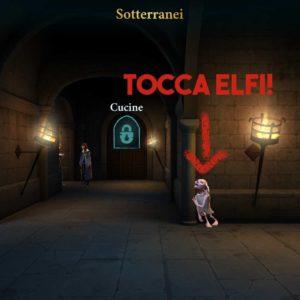 harry potter Hogwarts Mysteryenergia sotterranei ELFI