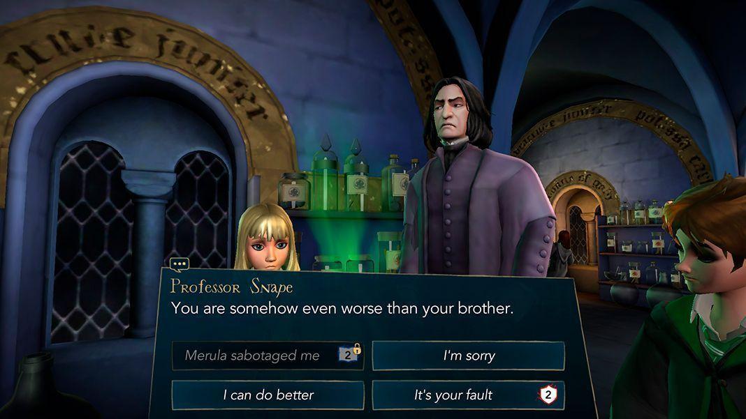 harry potter hogwarts mystery punti casata