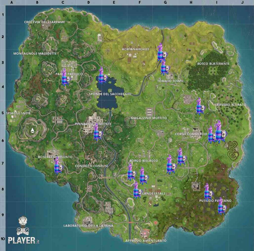 Fornite mappa lama