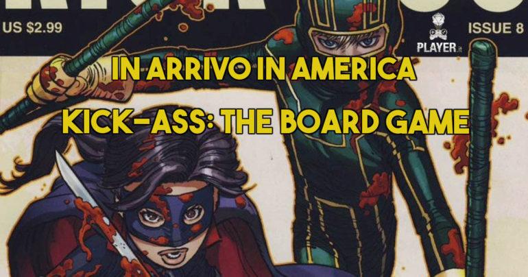 In America arriva il gioco da tavolo di Kick Ass
