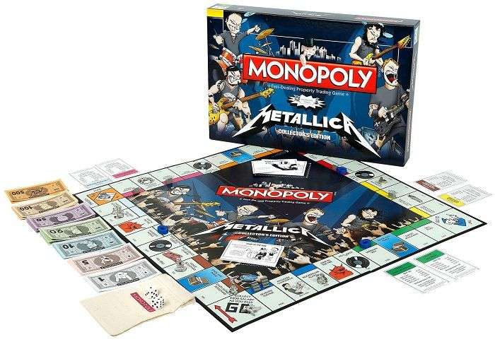 monopoly per i metallari