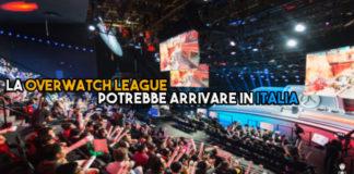 La Overwatch League potrebbe arrivare in Italia