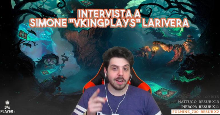 """Intervista a Simone """"VkingPlays"""" Larivera"""
