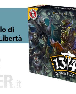 1347 De Nigrae Pestis Ludum gioco da tavolo feudalesimo e liberta