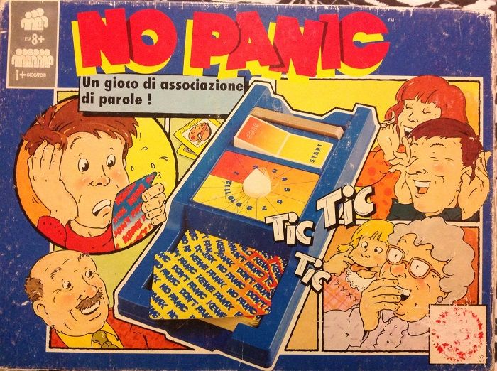 no panic gioco da tavolo