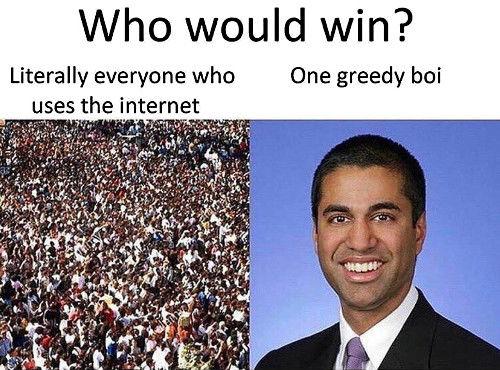 Net Neutrality, Ajit Pai, Net Neutrality Ajit Pai, Ajit Pai Meme
