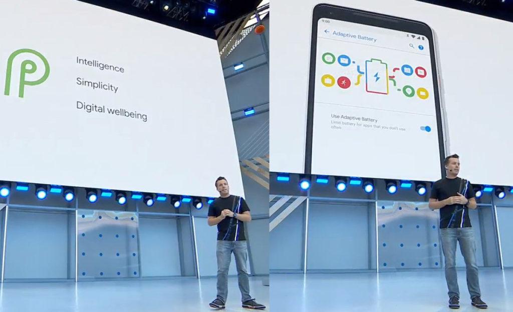 Google I/O 2018, Android P Adaptive Battery