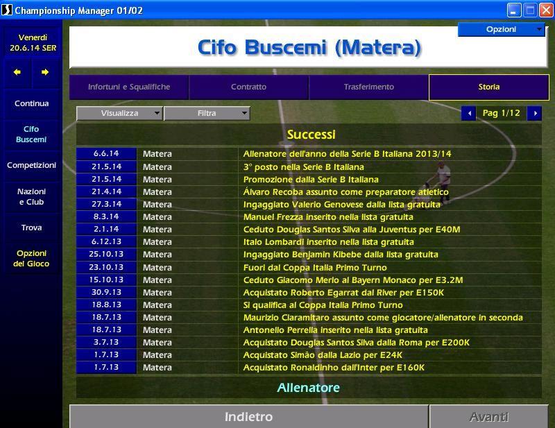 championship manager notizie