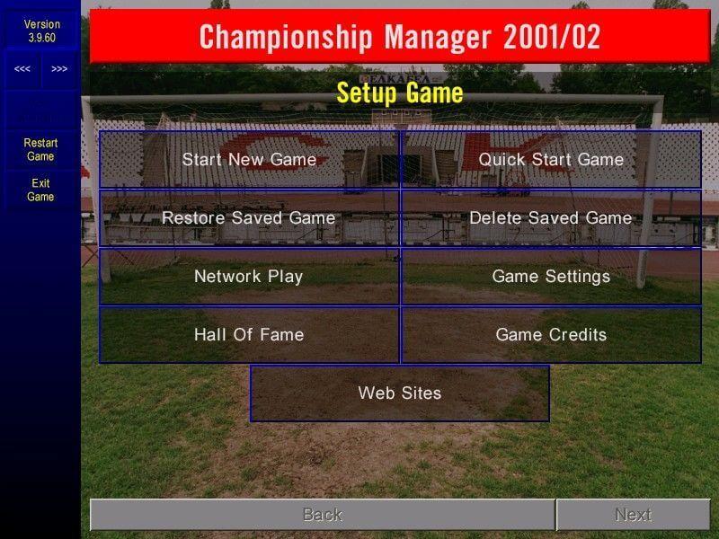 championship manager modalità di gioco
