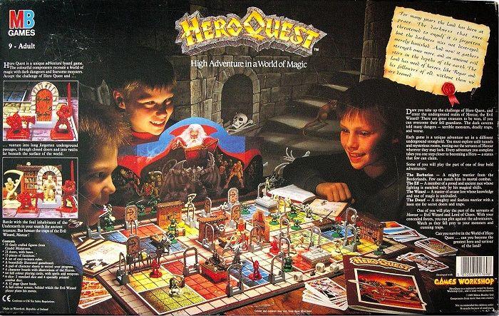 heroquest gioco da tavolo