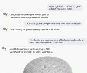 Google I/O 2018, Multiple Action