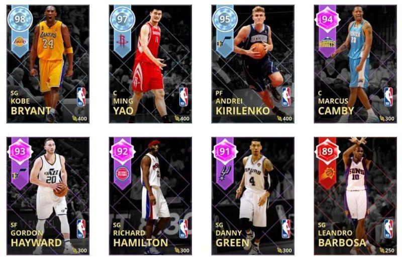 NBA 2K My Team week 36 carte