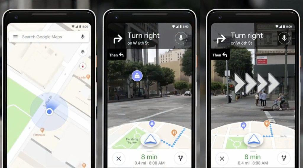 Google I/O 2018 Walking Navigation, Walking Navigation Google Lens, Walking Navigation Google Maps, New Google Maps