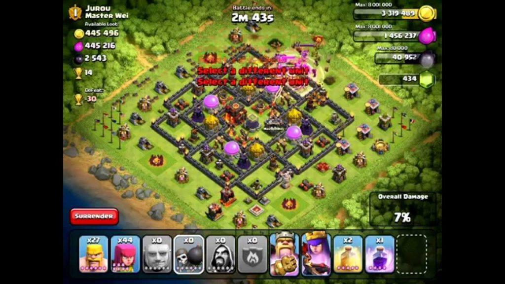 clash of clans come fare raid migliore