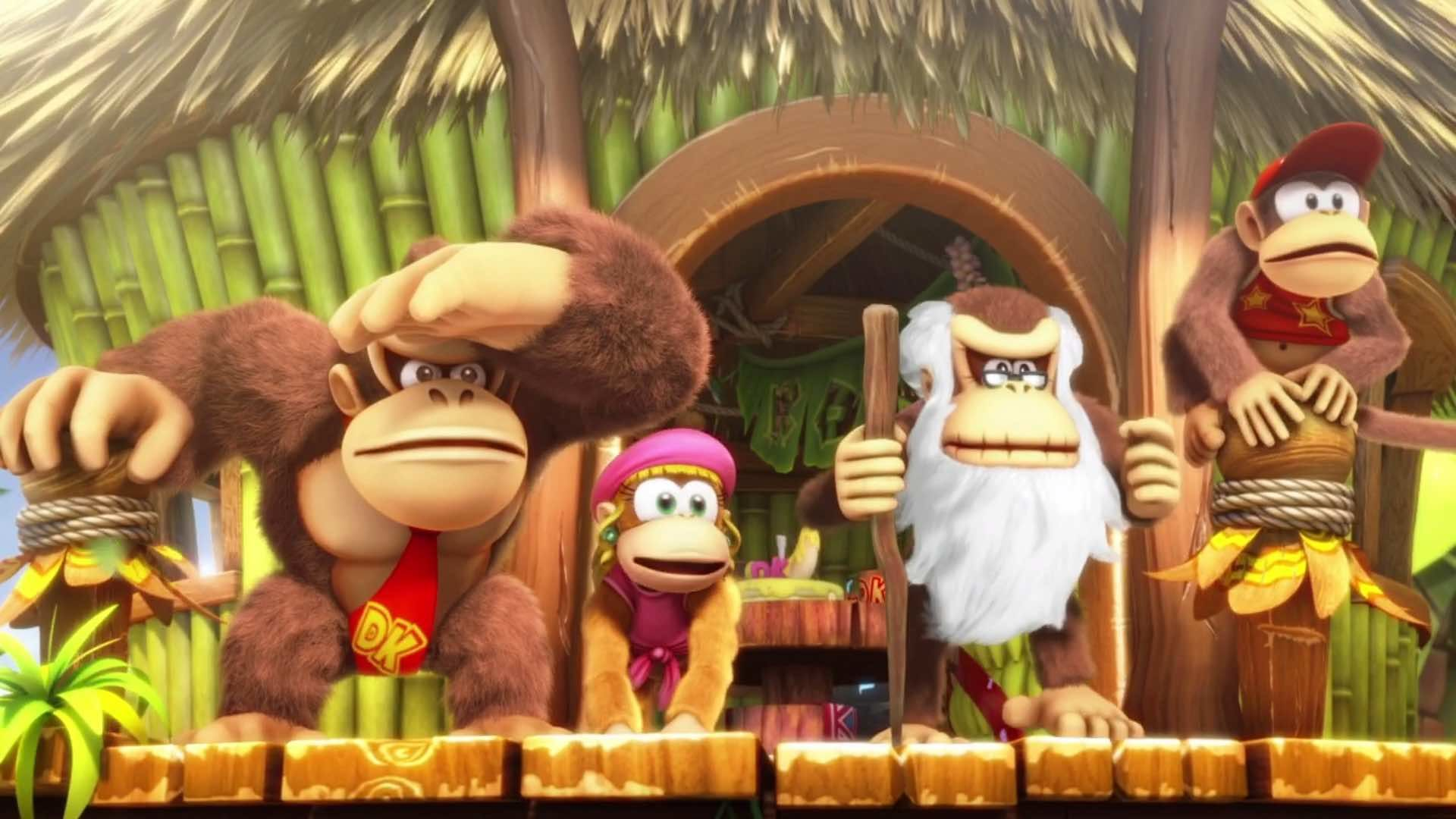 donkey kong country tropical freeze puzzle