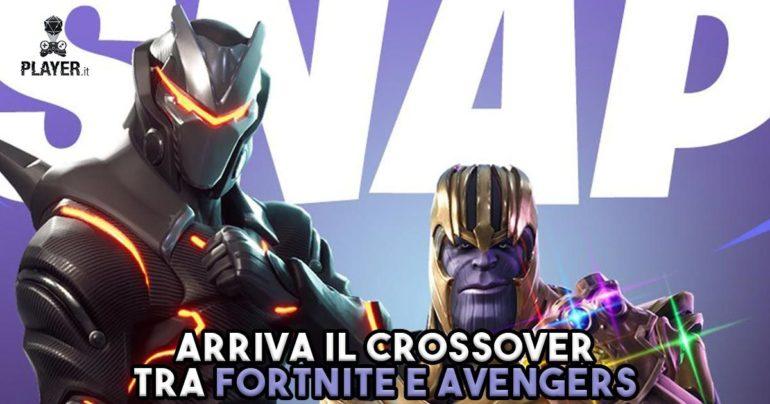 Fortnite avengers thanos crossover