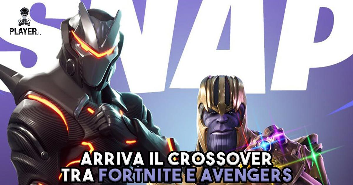 Fortnite avengers thanos crossover