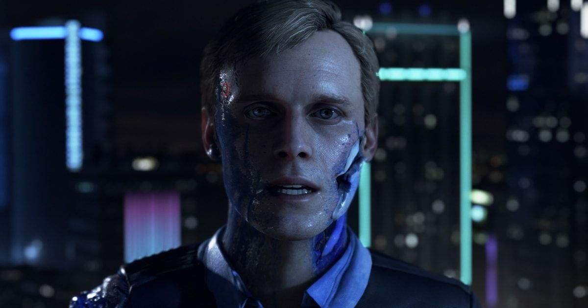 detroit become human grafica