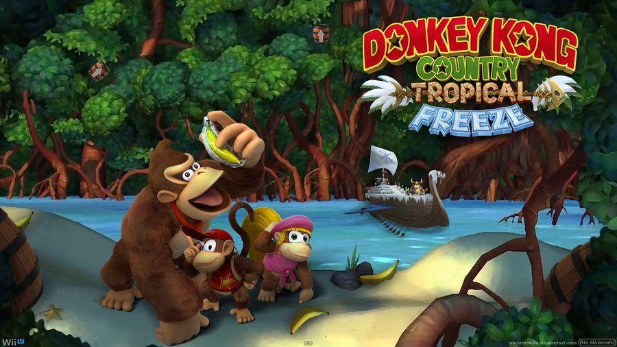 donkey kong country tropical freeze collezionabili