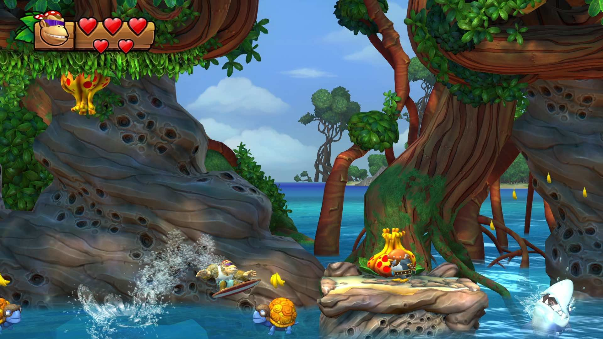 donkey kong country tropical freeze camere segrete