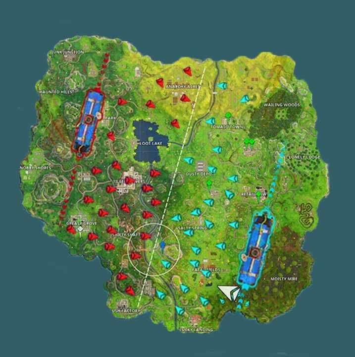 fortnite 50 vs 50 mappa esempio come vincere soluzione trucchi