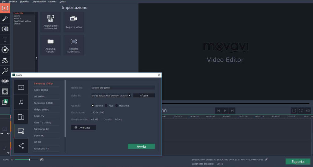 Movavi Video Player