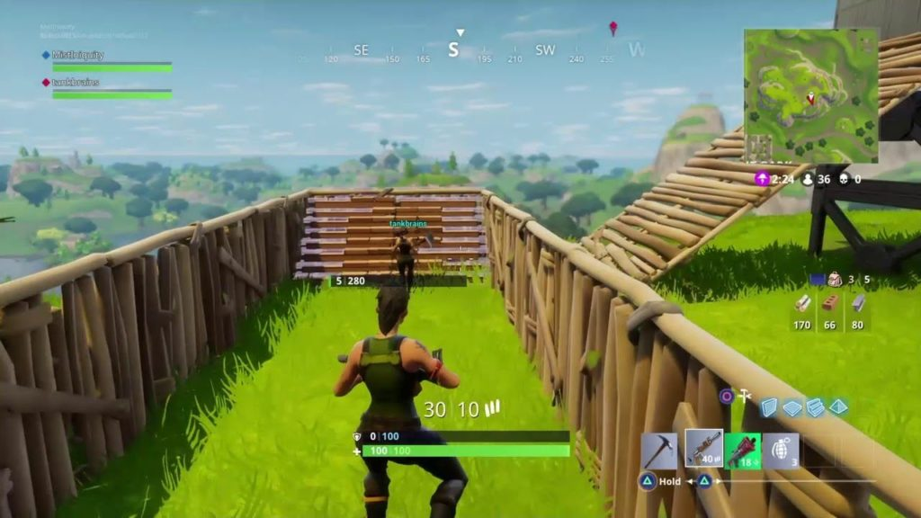 Fortnite ranked gameplay duello solitario