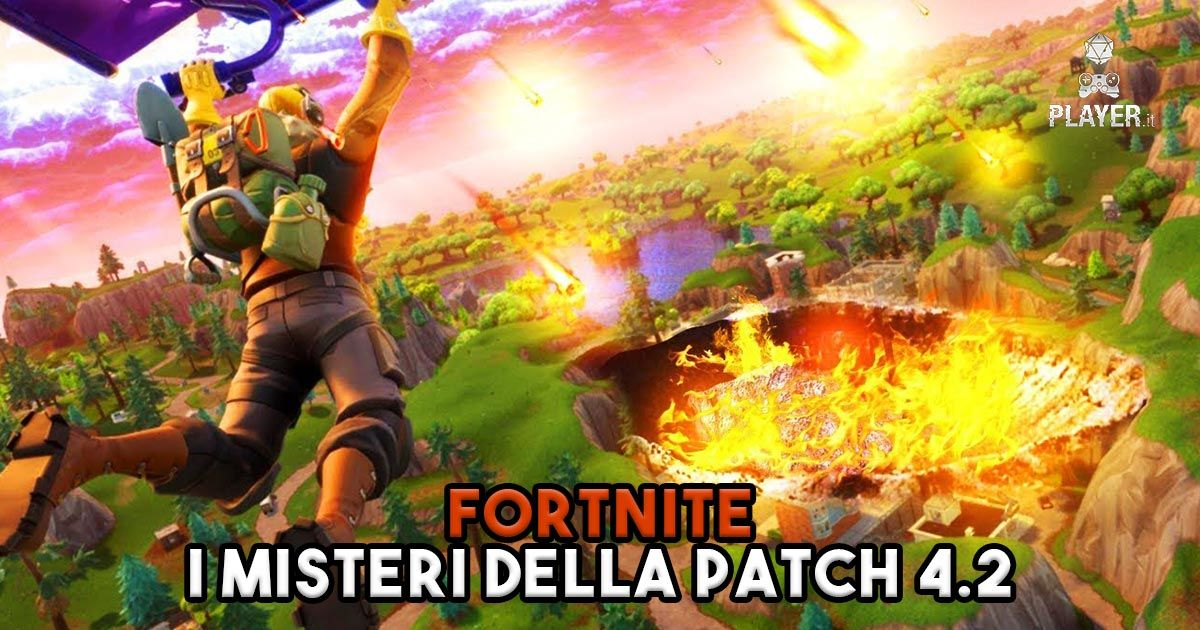 Fortnite misteri patch 4.2