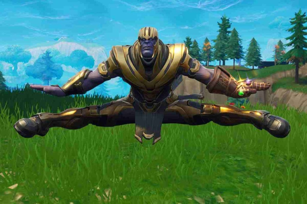 fortnite thanos guanto dell'infinito