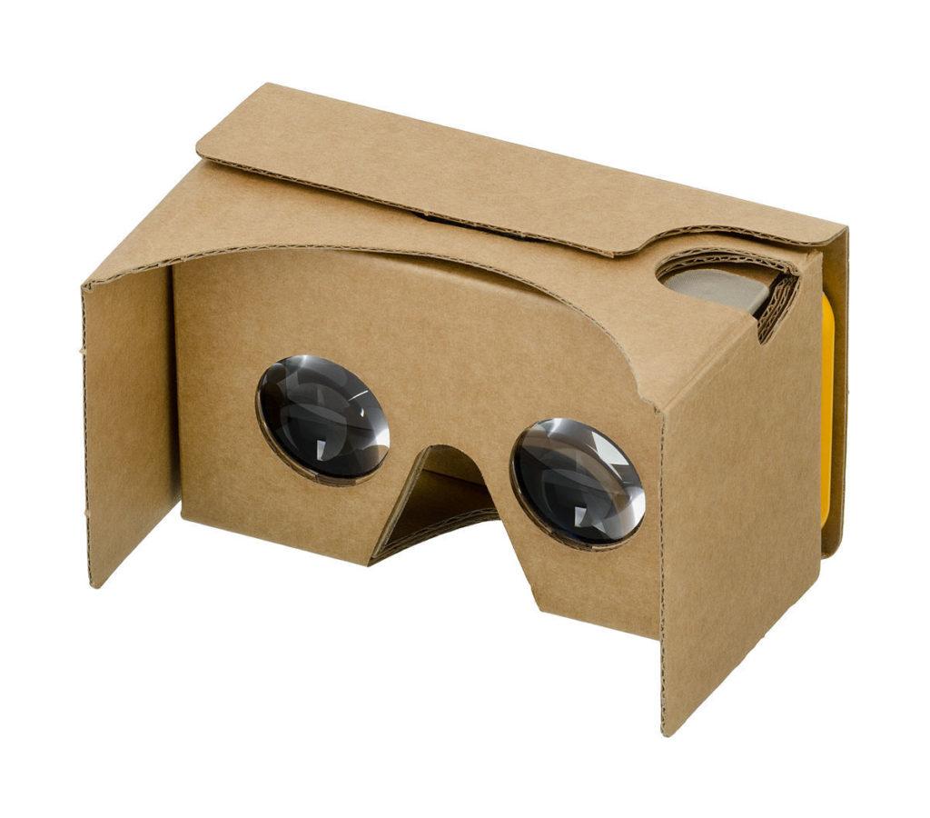 google cardboard occhiali