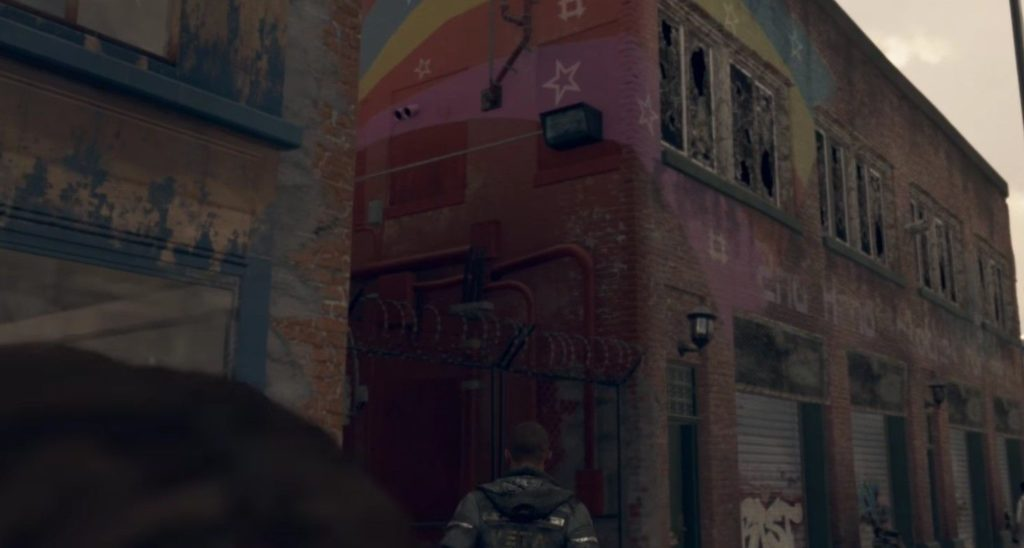detroit: become human graffiti