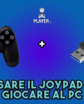 guida per usare joypad ps4 su PC