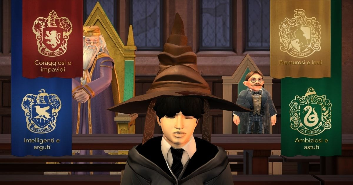 come resettare harry potter hogwarts mystery
