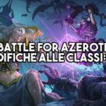 WoW Battle for Azeroth Beta - Le modifiche alle classi: Mago