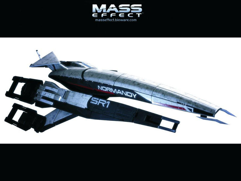 mass effect navicella spaziale normandy
