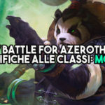 WoW Battle for Azeroth Beta - Le modifiche alle classi: Monaco