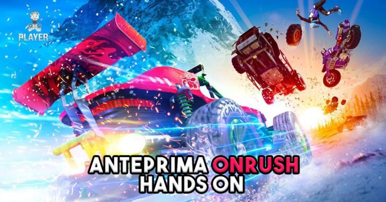 Anteprima Onrush: hands on