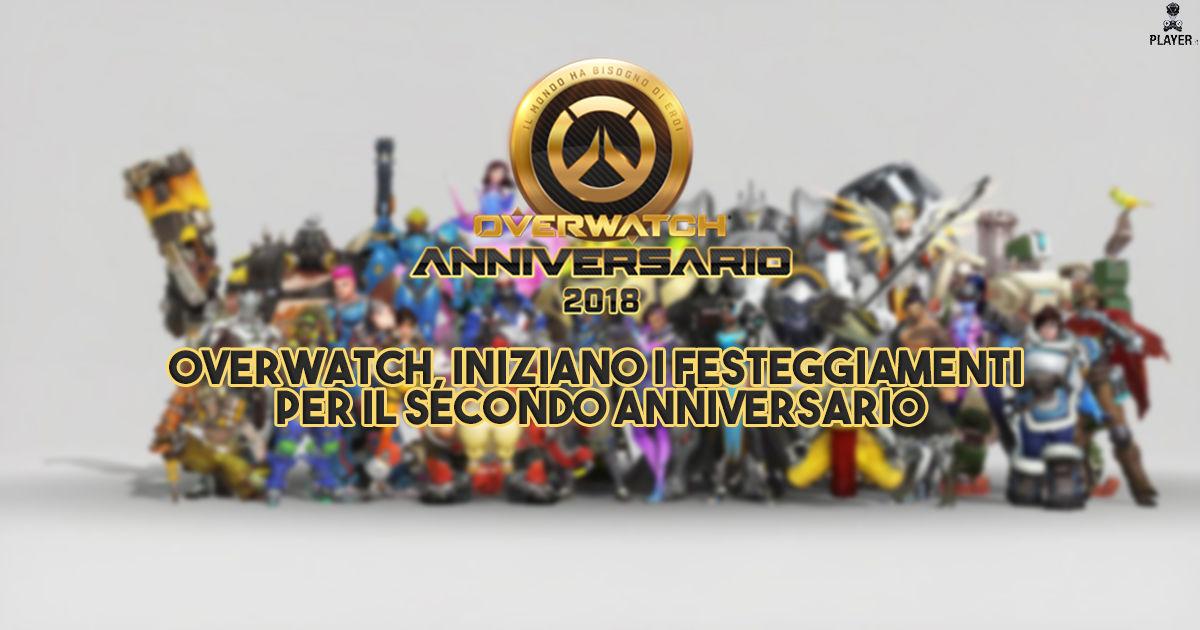 Overwatch, i festeggiamenti del secondo anniversario iniziano il 22 maggio