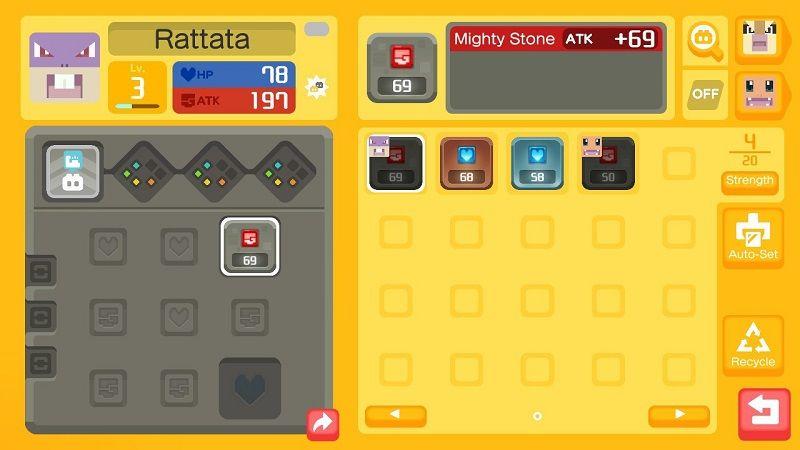 pokemon quest guida power stone