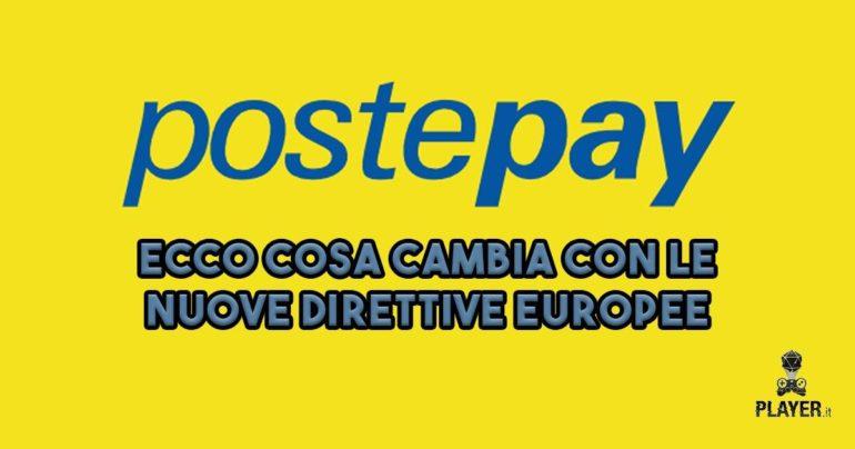 postepay cosa cambia direttive europee