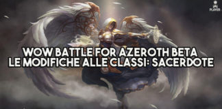 WoW Battle for Azeroth Beta - Le modifiche alle classi: Sacerdote